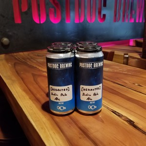 Beer Name: [REDACTED] IPA- 4pk 16oz Cans (20% off)